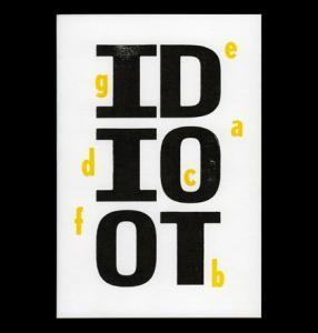 Idioot